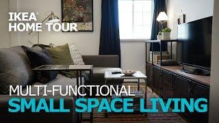 Small Apartment Ideas - IKEA Home Tour (Episode 308)