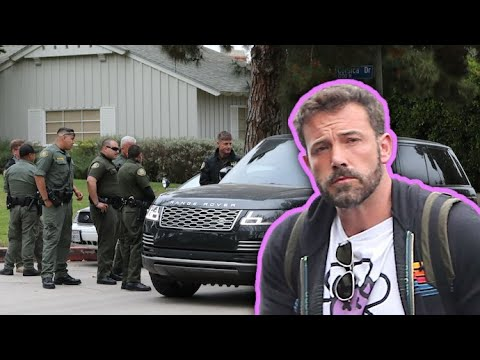 Ben Affleck Meets With Security Team Following Intruder Incident