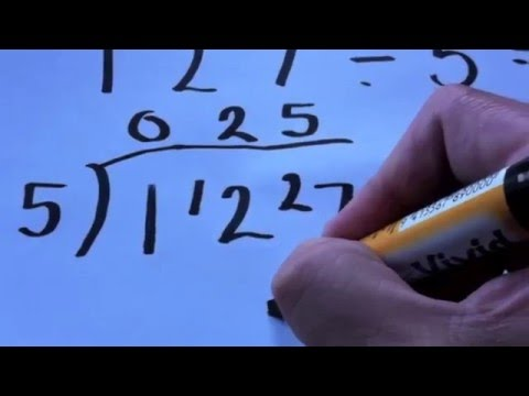 how to turn remainders into decimals