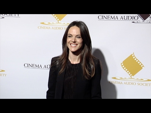 Sarah Butler 53rd Annual CAS Awards Red Carpet