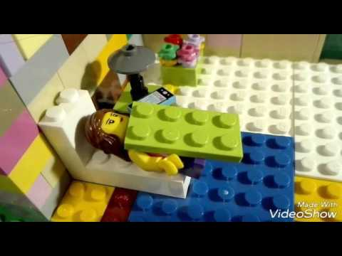 O zi din viața lui Staicy ( cu lego )