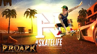 Nyjah Huston: #Skatelife by Hugo Games A/S (ANDROID/iOS/iphone/ipad)►►► SUBSCRIBE PROAPK FOR MORE GAMES : http://goo.gl/dlfmS0 ◄◄◄Team up with the world famous Nyjah Huston in his first official skateboarding event.Grind along precarious rails and grab the highest air before casually dropping in a gravity-defying signature trick to record insane high score combos.Can you emulate Nyjah's feat of the highest-scoring trick in Street League history?Grab your deck, pop those tricks and perfectly time the cleanest of landings to become a skateboarding superstar. And, who knows, maybe you'll even be good enough to challenge Nyjah as the world's greatest skateboarding hero...GNARLY TRICKSSimple taps and swipes let you effortlessly dance across grind rails.But can you master challenging manuals and spine transfers to link together long chains of tricks for the biggest scores?Keep your combo running after the timer has finished and showboat to your fans for crazy bonus points.Customise your loadout for maximum style, points and kudos.RAD CARD PACKSReceive coveted card packs and upgrade your tricks to achieve the biggest scores.Develop your skills and master the crowd-pleasing, high-scoring signature tricks.GLAMOUROUS BEACH FRONTLeave the skate park and take to the vibrant streets of Venice Beach.Explore the world, discover hidden routes and skillfully improvise your way through the urban landscape. Grind bars, smash lamps and swipe pizza - nothing is out of bounds.Experiment to find the perfect route and longest chain of tricks for the biggest kudos rewards.GET STOKED FOR STREET COMPETITIONSComplete crazy missions to qualify for the latest exciting community competitions.Earn kudos to unlock new daredevil tricks for more points.Skate hard, win competitions and add to your trophy collection.BECOME A SKATEBOARD LEGENDInnovative context-sensitive controls will get you immediately skating like a pro - you won't be able to resist showing off in front of your friends. But mastering