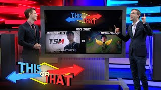 This or That | Junglers These Days by League of Legends Esports
