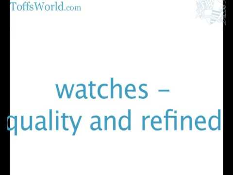 refined english luxury watches men ladies