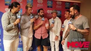 Backstreet Boys sing Despacito with Enrique Santos at iHeart summer 17