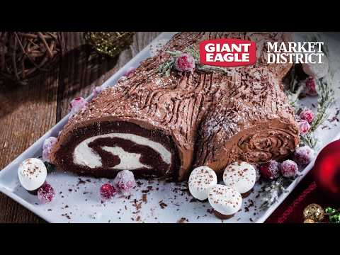 How To Make A Holiday Yule Log | Giant Eagle