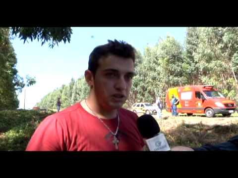 VICE PREFEITO DE GOIOERE FICA FERIDO EM CAPOTAMENTO