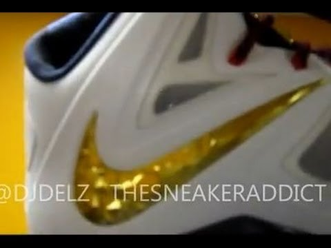 Are You Picking Up The Nike Lebron Gold Medal 10 X Sneaker Retailing for 270 Bucks? @DjDelz Vlog