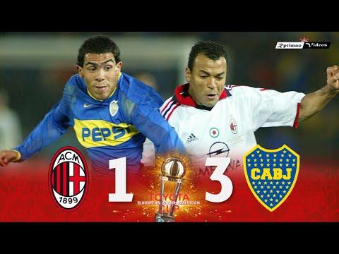 Milan 1 (1) x (3) 1 Boca Juniors ● 2003 Intercontinental Cup Final Extended Goals & Highlights HD