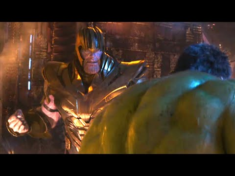 Avengers Infinity War - HULK Vs THANOS | Full Fight Scene HD Bluray