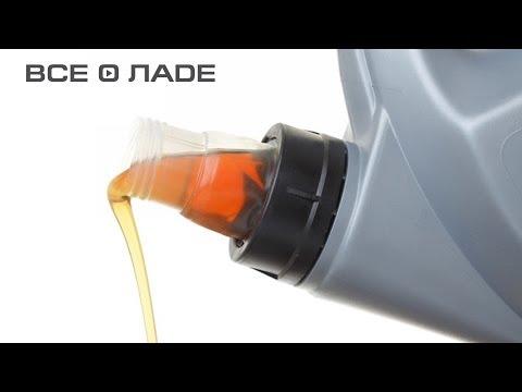 Замена масла в двигателе 1.4 лада калина снимок
