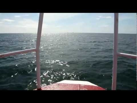 Prawn fishing in the Irish sea