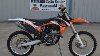 7. $4599; For Sale Pre Owned 2011 KTM 350 SX F