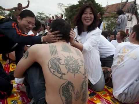 Sak Yant Tattoos (Thailand)