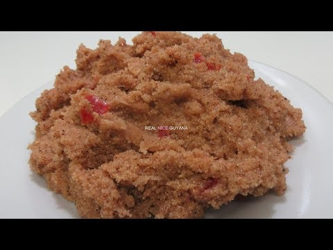 Cream Of Wheat Parsad, Step By Step Video Recipe II Real Nice Guyana [HD]
