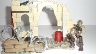 Call of Duty Mega Bloks Desert outpost! This set is very cool for diorama makers. Retails for $9.99