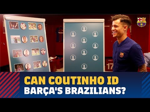 Coutinho quizzed on his blaugrana countrymen