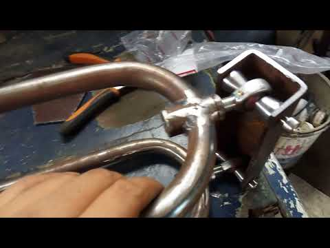 Reverse Trike motorcycle control arm (indonesia)