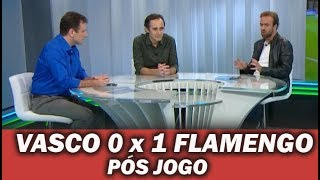 Vasco 0 x 1 Flamengo * Pós Jogo
