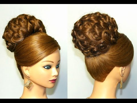 Elegant updo, hairstyles for long hair, wedding hairstyles