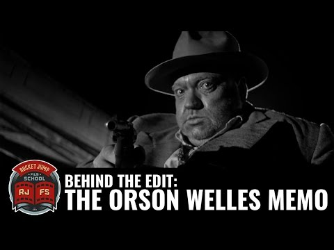 Behind the Edit: The Orson Welles Memo (видео)
