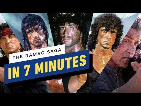 The Rambo Saga in 7 Minutes