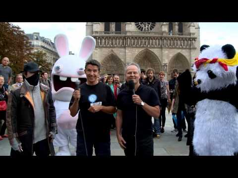 Director! - Ubisoft CEO Yves Guillemot and EMEA Executive Director Alain Corre accepted the ALS Ice Bucket Challenge. Thanks to BlueByte, RedLynx and Jim Ryan from Sony Computer Entertainment Europe for...