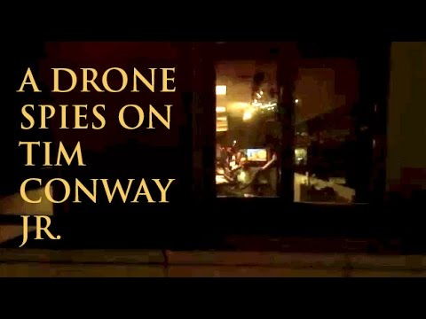 WATCH: Drone Spies on Conway