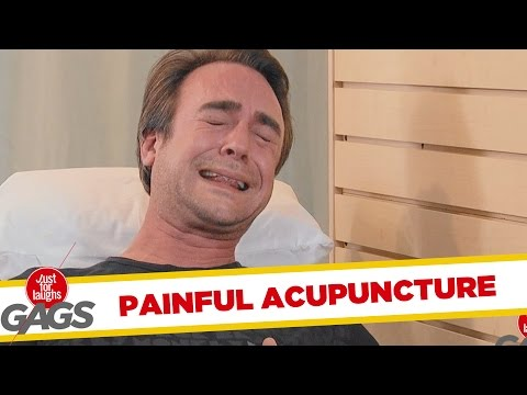 Troll Hài Hước 2015 - Extreme Acupuncture Prank