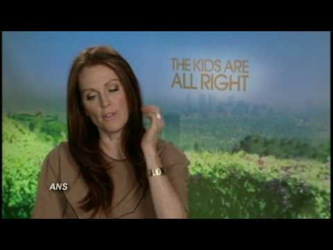JULIANNE MOORE ANS THE KIDS ARE ALL RIGHT INTERVIEW