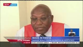 Kenyan Ship Builder Unveils Locally Built Sea Vessel For Transportation