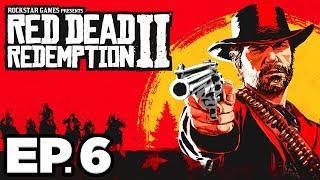Red Dead Redemption 2 Ep.6 - BAR FIGHT, GUNSLINGER BIOGRAPHER, NEW HORSE!!! (Gameplay / Let's Play)