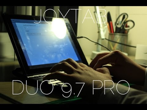 9.7 - Jason England reviews the JoyTAB Duo 9.7 Pro, a new 9.7-inch tablet from Gemini Devices that runs Android 4.1 Jelly Bean. Like New Rising Media on Facebook: ...