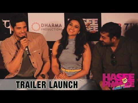Hasee Toh Phasee - Trailer Launch Event - Sidharth Malhotra, Parineeti Chopra