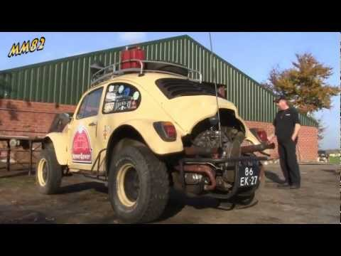 Custom Beetle kick up some dirt