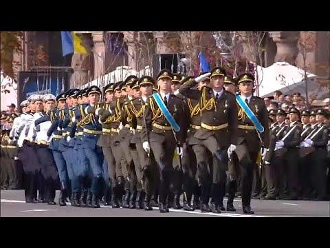 Ουκρανία: Εορτασμοί και παρελάσεις για την Ημέρα Ανεξαρτησίας