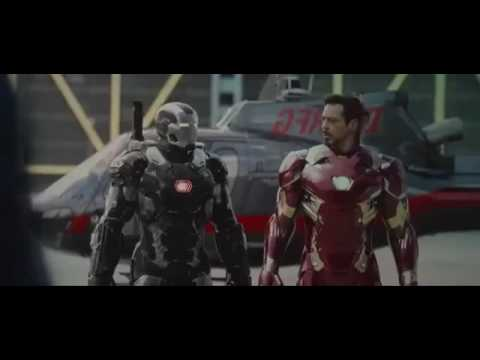Video Captain America  Civil War Airport Battle   Iron Man Runs into Cap HD download in MP3, 3GP, MP4, WEBM, AVI, FLV January 2017