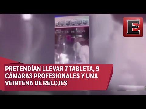 Otro asalto captado por una cámara en Naucalpan