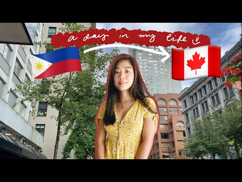 A day in my new job   OFW in Canada