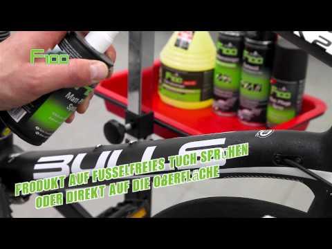 Fahrrad Pflegemittel für Mattlacke – F100 Matt-Pflege Spray