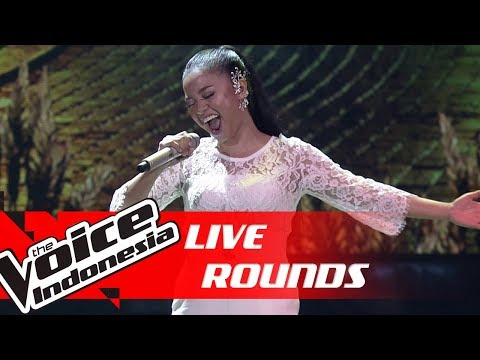 Waode - I'll Never Love Again (Lady Gaga) | Live Rounds | The Voice Indonesia GTV 2018