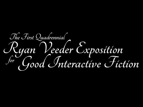 2016 Ryan Veeder Exposition for Good Interactive Fiction Results