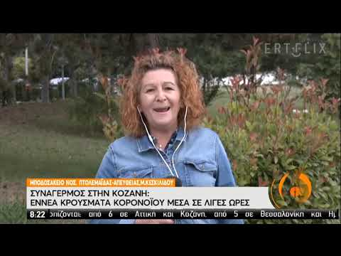 Κοζάνη   9 νέα κρούσματα   13/07/2020   ΕΡΤ