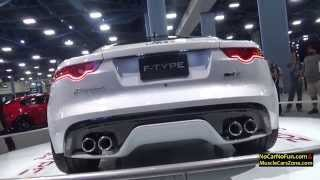 FULL INFO at http://www.nocarnofun.com/2016 Jaguar F Type Coupe at 2015 Miami Motor Show