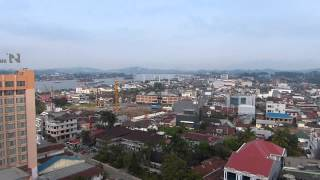 Samarinda Indonesia  city images : Samarinda East Borneo Indonesia from the Aston Hotel