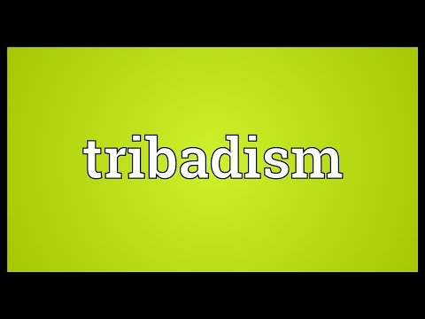 Tribadism Meaning