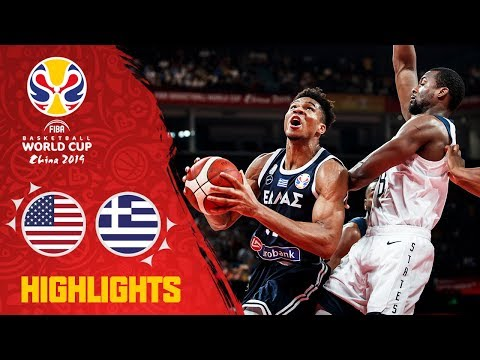 USA v Greece - Highlights - FIBA Basketball World Cup 2019