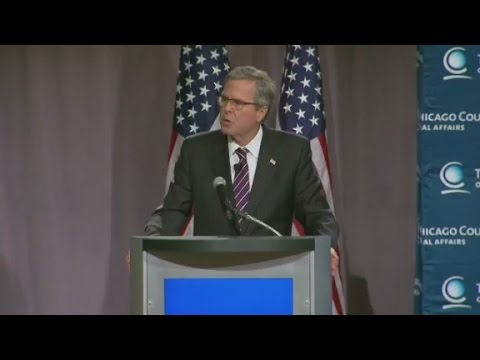 Jeb Bush at the Chicago Council on Global Affairs
