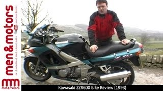 8. 1993 Kawasaki ZZR600 Review