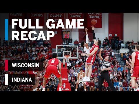 Full Game Recap: Langford Hits Game-Winner in Double OT | Wisconsin vs. Indiana |  Feb. 26, 2019